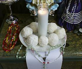 A Client's Adimu for Obatala for a Special Request - Tarot